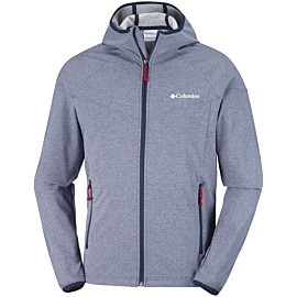 columbia heather canyon softshell jas heren blue