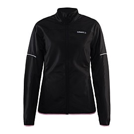 craft radiate jacket hardloopjack dames black cameo