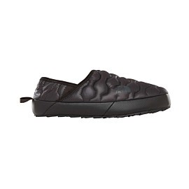 the north face thermoball traction mule iv sloffen dames shiny tnf black/beluga grey