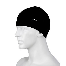 speedo bubble cap badmuts black