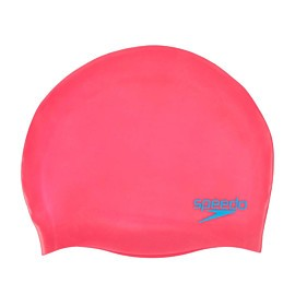 speedo silicone badmuts junior pink