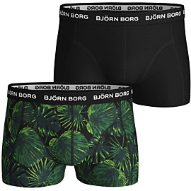 bjorn borg la garden onderbroek heren black beauty 2-pack