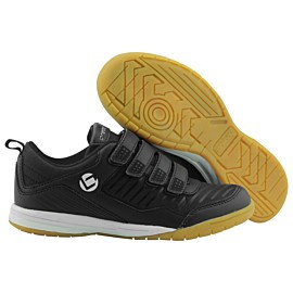 brabo velcro indoor bf1018 zaalhockeyschoenen junior black