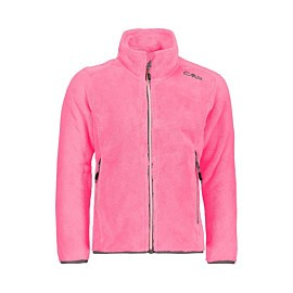 cmp highloft fleece vest junior fuxia fluo