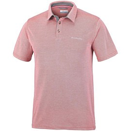 columbia nelson polo heren red spark