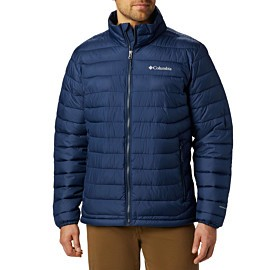 columbia powder lite outdoor jack heren collegiate navy