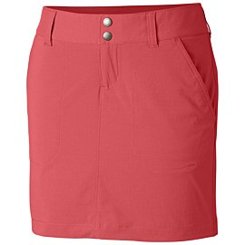 columbia saturday trail skort dames red coral