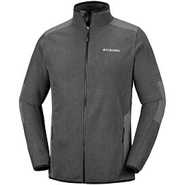 columbia tough hiker fleece vest heren black