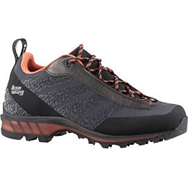 hanwag ferrata light low lady gtx 100301 wandelschoenen dames asphalt