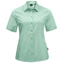 jack wolfskin sonora blouse dames light jade