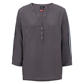 luhta attala blouse dames dark olive