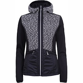 luhta iivaara fleece vest dames black