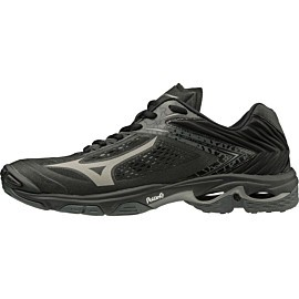 mizuno wave lightning z5 v1ga1900-97 indoorschoenen heren black