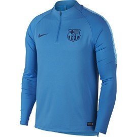 nike fc barcelona trainingstrui heren equator blue
