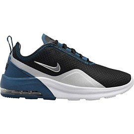 nike air motion 2 ao0352 vrijetijdsschoenen dames black metallic silver blue