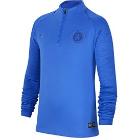 nike chelsea fc strike trainingstrui junior hyper royal rush blue