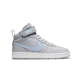 nike court borough mid 2 ep cq4578 vrijetijdsschoenen junior wolf grey celestine blue