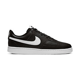 nike court vision lo cd5463 vrijetijdsschoenen heren black white photon dust