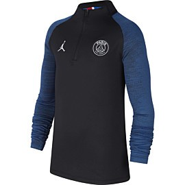 nike paris saint-germain dri-fit strike trainingstrui junior black hyper cobalt