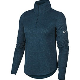 nike sphere element hardloopshirt dames midnight turquoise
