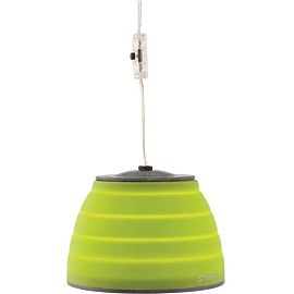 outwell leonis lux opvouwbare lamp lime green
