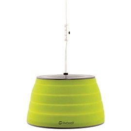 outwell sargas lux opvouwbare lamp lime green