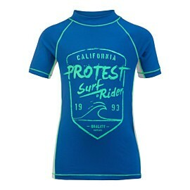 protest muker uv shirt junior medium blue