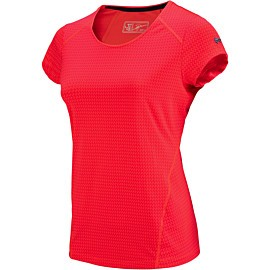 sjeng sports bizzy plus tennisshirt dames laser pink