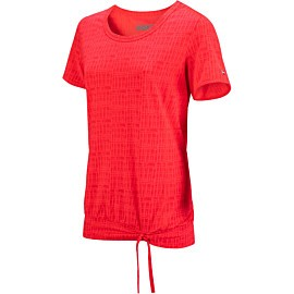 sjeng sports pantana plus tennisshirt dames laser pink