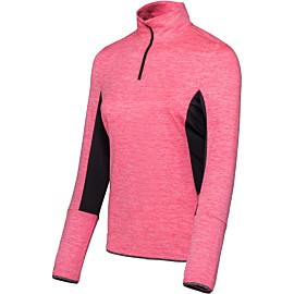 sjeng sports thess plus tennisshirt dames popstar pink melange