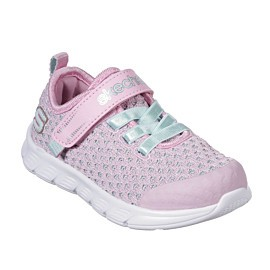 skechers comfy flex sparkle dash 82188n vrijetijdsschoenen junior light pink