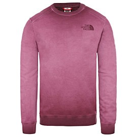the north face berkeley sweater heren deep garnet red