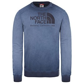 the north face berkeley sweater heren montague blue