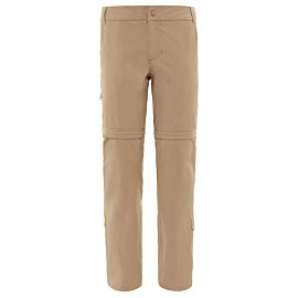 the north face exploration afritsbroek dames dune beige