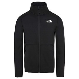 the north face quest fleece vest heren tnf black