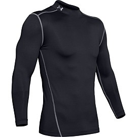 under armour coldgear armour compressie shirt heren black