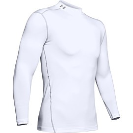 under armour coldgear armour compressie shirt heren white