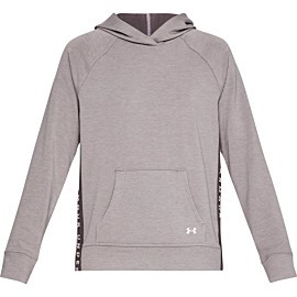 under armour featherweight fleece hoodie dames gray