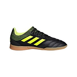 adidas copa 19.3 in sala d96583 zaalvoetbalschoenen junior core black solar yellow solar yellow