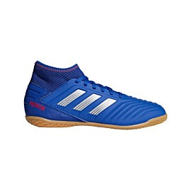 adidas predator 19.3 in cm8543 zaalvoetbalschoenen junior bold blue silver metallic active red