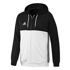 adidas t16 hoodie trainingsvest heren black