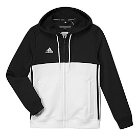 adidas t16 hoodie trainingsvest junior black