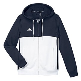 adidas t16 hoodie trainingsvest junior navy