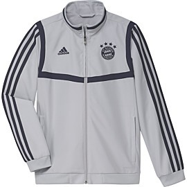 adidas fc bayern munchen presentation trainingsjack junior lgh solid grey