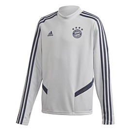 adidas fc bayern munchen trainingstrui junior lgh solid grey