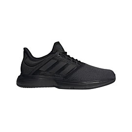 adidas gamecourt ef0573 tennisschoenen heren core black