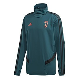 adidas juventus trainingstrui col mystery green