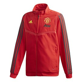 adidas manchester united presentation trainingsjack junior collegiate red