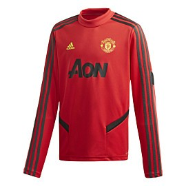 adidas manchester united trainingstrui junior collegiate red