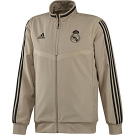 adidas real madrid presentation trainingsjack raw gold